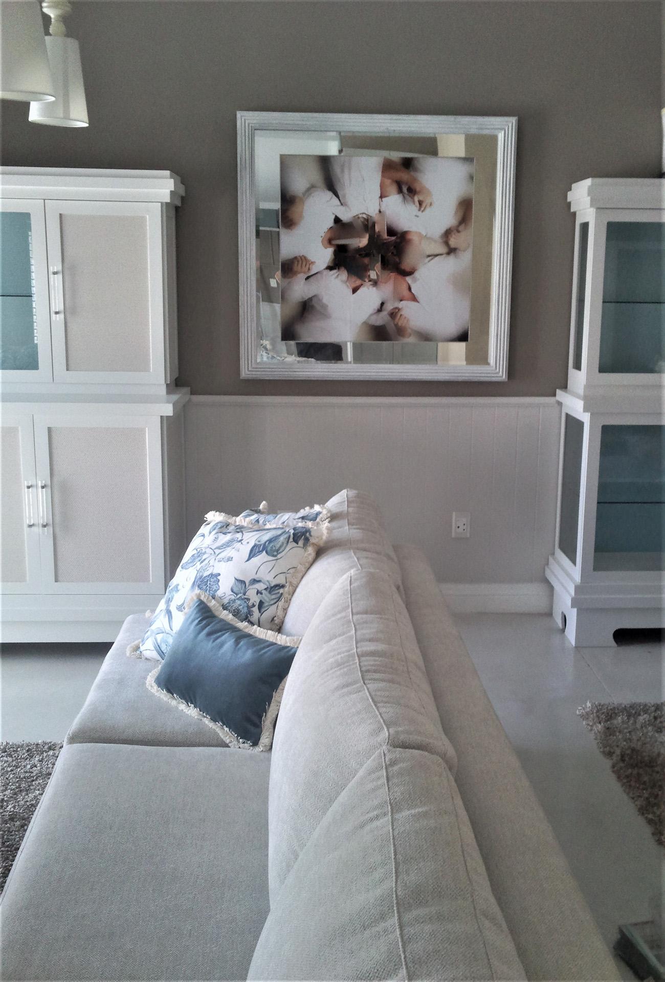 TV room sofa